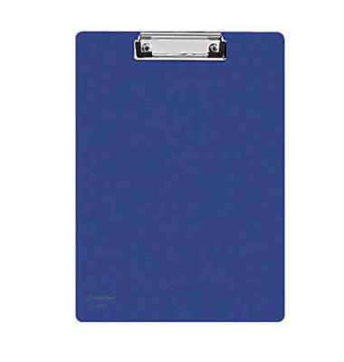 Klemmbrett 80001-40 A4 blau 229x319mm Kunststoff