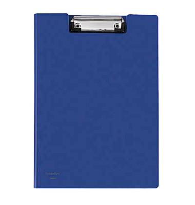 Klemmbrettmappe 80003-40 A4 blau 230x319mm Kunststoff
