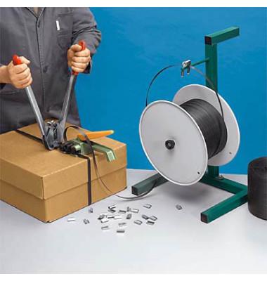 Tischabrollgerät für Umreifungsband-Spule