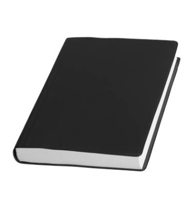 Handwerker-Buchkalender 1Tag/1Seite A6 kariert schwarz
