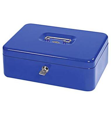 Geldkassette 5611437 Größe 4 blau 300x245x90mm