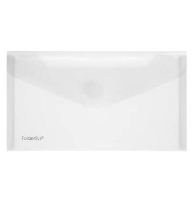 Dokumententasche 40103 Din Lang farblos/transparent 10 Stück