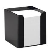 Notizzettel-Box schwarz