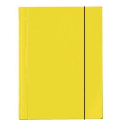Gummizugmappe Velocolor A4 350g gelb