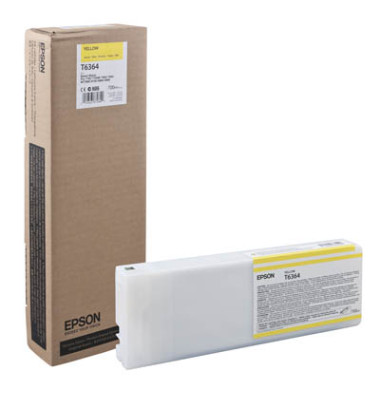 Druckerpatrone T636400 gelb 700,0ml