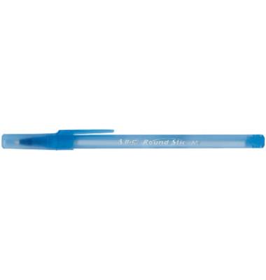 Kugelschreiber Round Stic Simply blau Mine 0,4mm Schreibfarbe blau 60 Stück