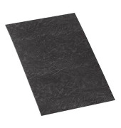 Umschlagkarton Delta 5370405 A4 Karton 250 g/m² schwarz Lederstruktur 100 Stück
