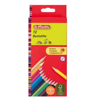 Dreikantbuntstift 12 Farben