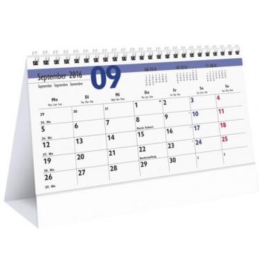 Schreibtischquerkalender 985 1Monat/1Seite 20x15cm 2021