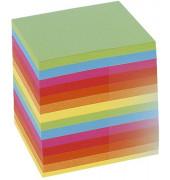 Notizklotz Intensivfarben 9,0X9,0X9,0 Cm Ca. 700 Blatt