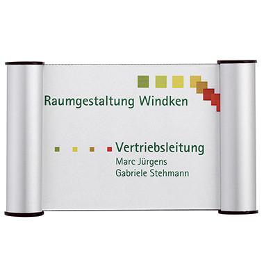 Türschilder mit Cliprahmen/BS0602 115x180mm