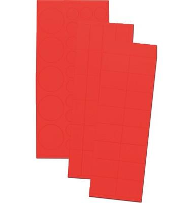 Magnetsysmbole MKS01/MKS 01 rot