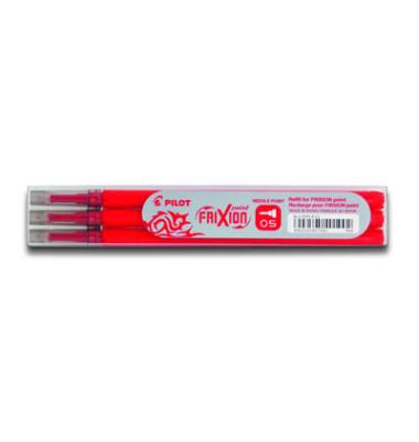 Tintenrollermine Frixion Point BLS-FRP5 rot 0,3 mm 3 Stück