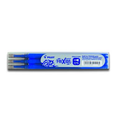 Tintenrollermine Frixion Point BLS-FRP5 blau 0,3 mm 3 Stück
