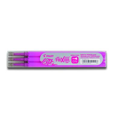 Tintenrollermine Frixion Point BLS-FRP5 pink 0,3 mm 3 Stück