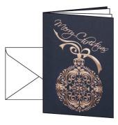 Weihnachtskarten Noblesse A6 10 Stück inkl. weißen Umschlägen DS345