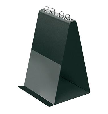 Tisch-Flipchart A4-hoch 4-Ringe schwarz 10 Hüllen