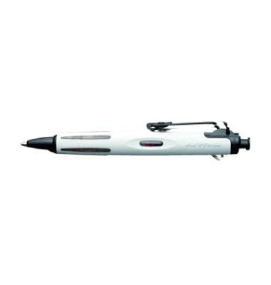 Airpress Pen weiß BCAP11 schwarz Kugelschreiber 0,5mm