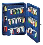 Schlüsselschrank mit 110 Schlüsselhaken blau