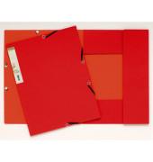 Eckspannmappe 56985E Forever A4 380g rot/orange