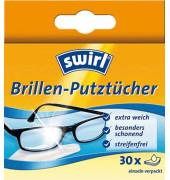 Brillenputztücher streifen- und fusselfrei 30 Stück