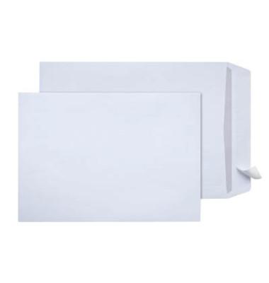 Versandtaschen C4 ohne Fenster haftklebend 120g weiß 250 Stück