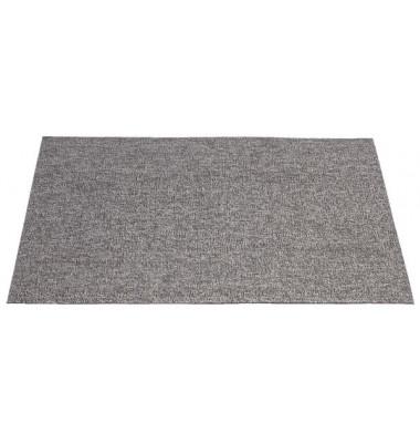 Schmutzfangmatte Schlingen 60x91cm grau meliert