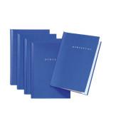 Bewerbungsmappe 22005 Start mit Klemme A4 bis 15 Blatt blau 5 Stück