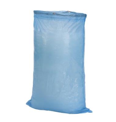 Zugband-Abfallsäcke blau 120,0 l, 24 my