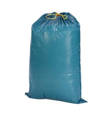 Zugband-Abfallsäcke blau 120,0 l 40my