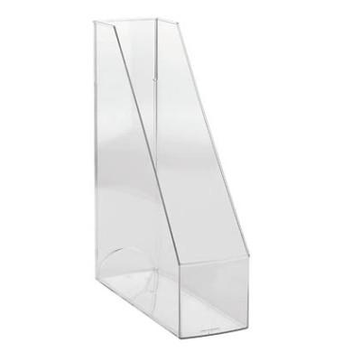 Stehsammler H23614-02 The Tower 85x240x322mm C4 Polystyrol transparent 2 Stück
