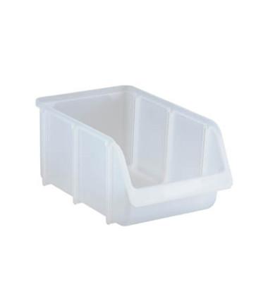 Sichtlagerkasten transparent 7,2 Liter 207x332x155mm