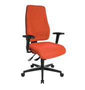 Bürodrehstuhl Lady Sitness orange ohne Armlehnen