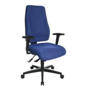 Bürodrehstuhl Lady Sitness Deluxe blau ohne Armlehnen