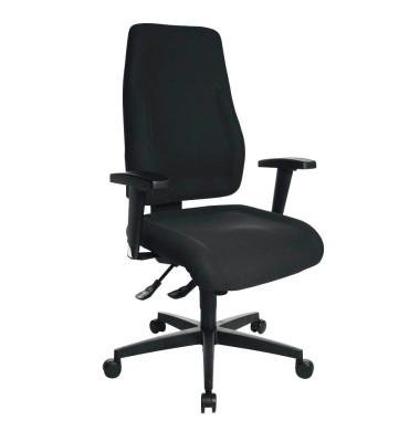 Bürodrehstuhl Lady Sitness schwarz ohne Armlehnen