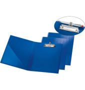 Klemmbrettmappe 10842441 A4 blau 240x330mm Kunsstoff