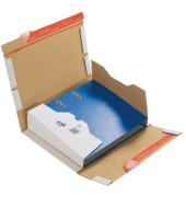 Versandschachtel für Ordner 1-wellig 320x290x35-80 mm weiß 20 Stück