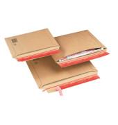 Versandtaschen Wellpappe B4+ haftklebend braun Innenmaß 285x400mm 20 Stück