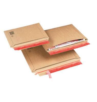 Versandtasche 285x400 mm B4+ ohne Fenster Vollpappe braun 20 Stück