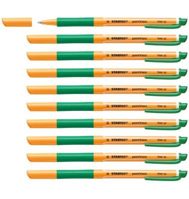 pointVisco Gelschreiber grün 10 Stück