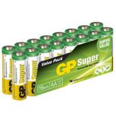 Batterie Super Mignon / LR06 / AA 16 Stück