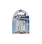 Akku Micro / HR03 / AAA 4 Stück