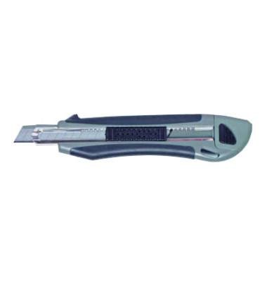 Cutter Profi schwarz/grau 9mm Klinge