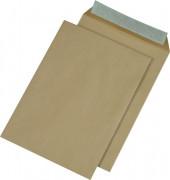 Versandtaschen C4 ohne Fenster haftklebend 110g braun 250 Stück