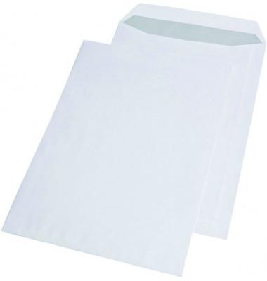Versandtaschen C4 ohne Fenster selbstklebend 100g weiß 250 Stück