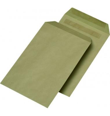 Versandtaschen C5 ohne Fenster selbstklebend 90g braun 500 Stück
