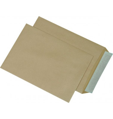 Versandtaschen C5 ohne Fenster haftklebend 90g braun 500 Stück