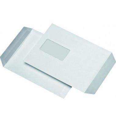 Versandtaschen C5 mit Fenster selbstklebend 90g weiß 500 Stück