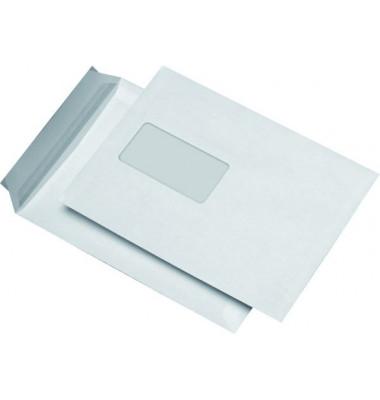 Versandtaschen C5 mit Fenster haftklebend 90g weiß 500 Stück