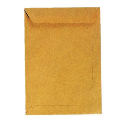 Versandtaschen E4 ohne Fenster haftklebend 130g braun 250 Stück